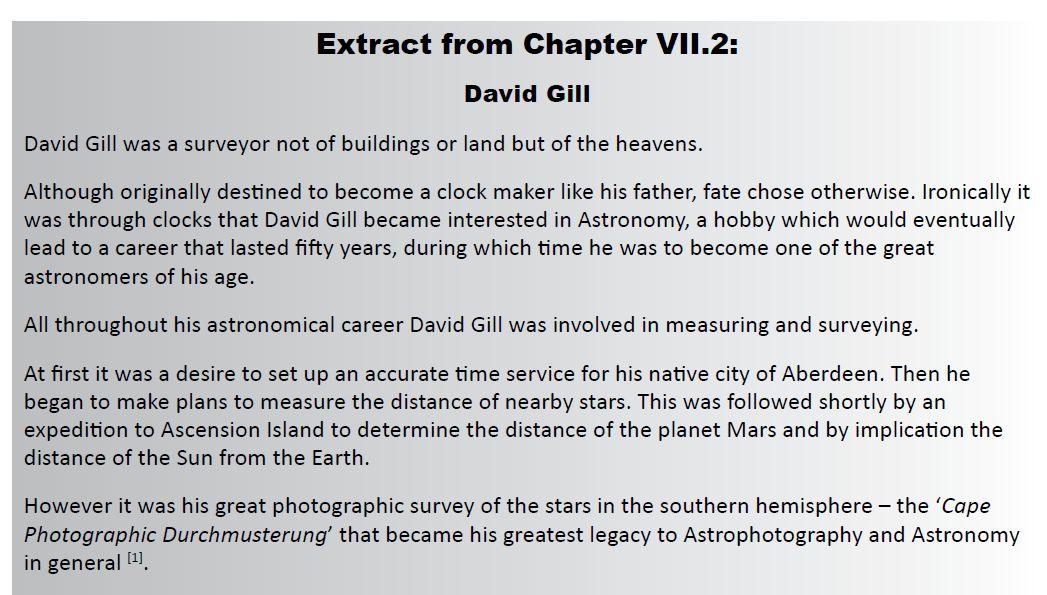 VII.2 David Gill
