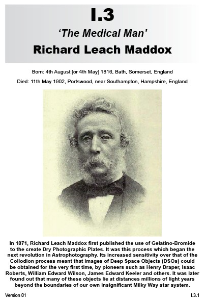 I.3 Richard Leach Maddox