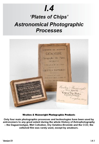 I.4 Astronomical Photographic Processes