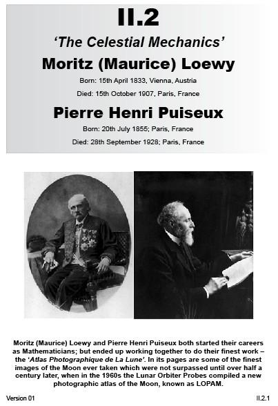 II.2 Maurice Loewy & Pierre Henri Puiseux