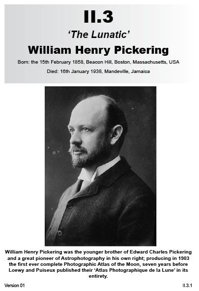 II.3 William Henry Pickering