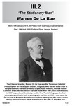 III.2 Warren De La Rue