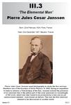 III.3 Pierre Jules Cesar Janssen