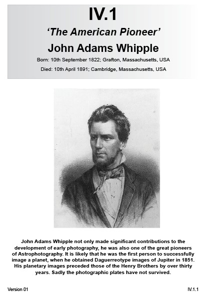IV.1 John Adams Whipple