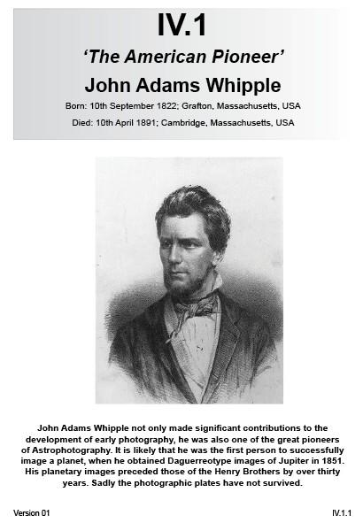 IV.1 John Adams Whipple