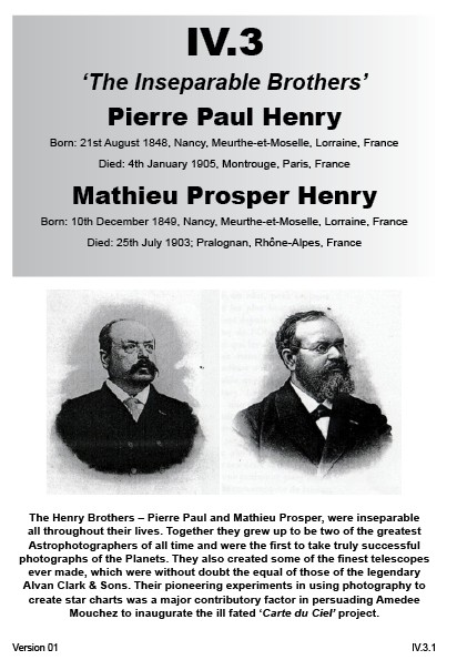 IV.3 Pierre Paul Henry & Mathieu Prosper Henry