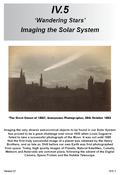 IV.5 Imaging the Solar System