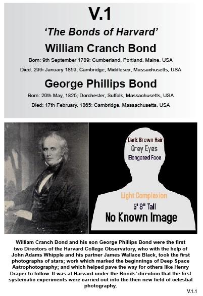 V.1 William Cranch Bond & George Phillips Bond