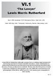 VI.1 Lewis Morris Rutherfurd