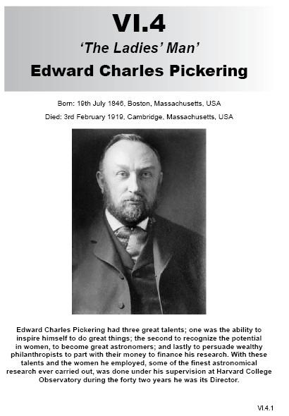 VI.4 Edward Charles Pickering