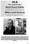 VI.6 Edwin Hubble &amp; Milton Humason