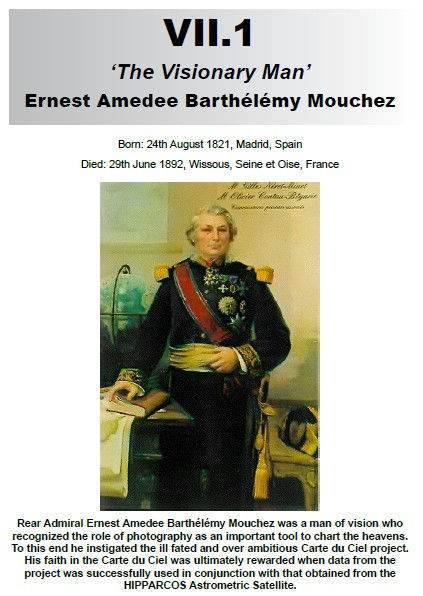 VII.1 Ernest Amedee Barthelemy Mouchez