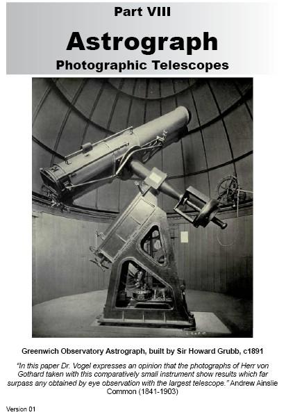 VIII.0 Astrograph