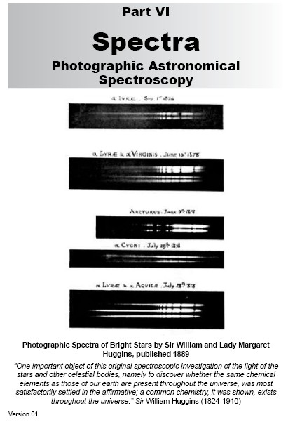 VI.0 Photographic Astronomical Spectroscopy